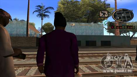 News C-HUD pour GTA San Andreas