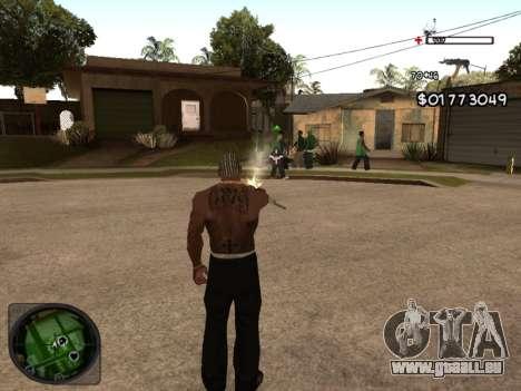 C-HUD by Azov pour GTA San Andreas