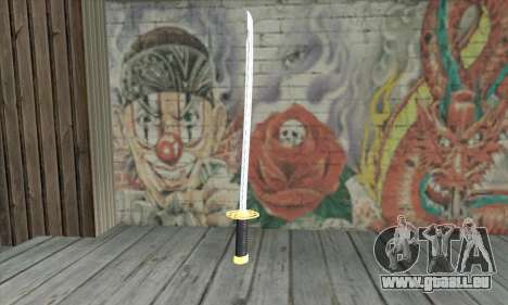 New Katana pour GTA San Andreas deuxième écran