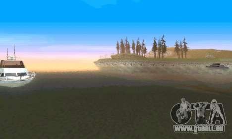 ENBseries pour PC puissant pour GTA San Andreas cinquième écran