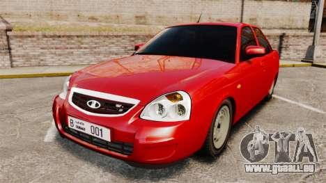 VAZ-2170 Dubaï pour GTA 4