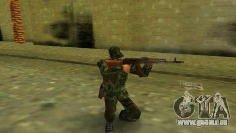 La forme de la Fédération de Russie des FORCES a GTA Vice City pour la deuxième capture d'écran