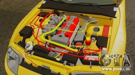 Toyota Supra 1994 (Mark IV) Slap Jack pour GTA 4 est une vue de l'intérieur