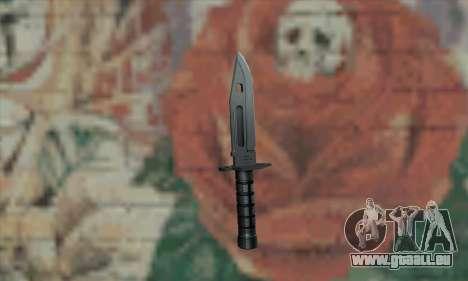 M9 Knife für GTA San Andreas zweiten Screenshot