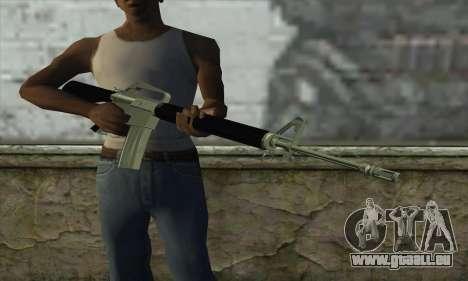 M16 für GTA San Andreas dritten Screenshot
