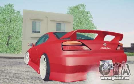 Nissan Silvia S15 BN Sports pour GTA San Andreas laissé vue