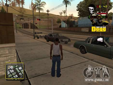 C-HUD Snoop Dogg für GTA San Andreas