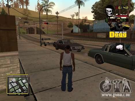 C-HUD Snoop Dogg pour GTA San Andreas