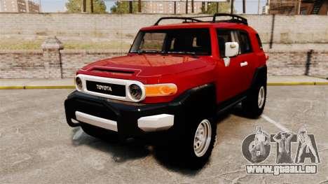 Toyota FJ Cruiser 2012 pour GTA 4