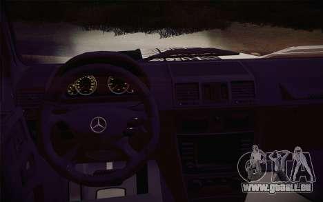Mercedes-Benz G55 AMG für GTA San Andreas rechten Ansicht
