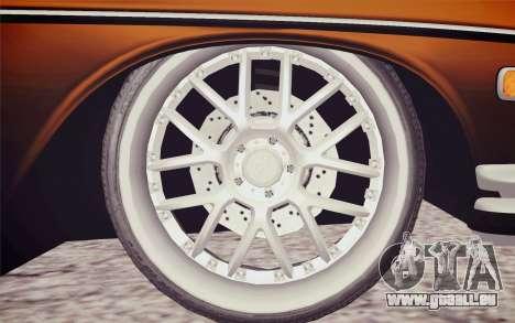 Mercedes-Benz 300 SEL für GTA San Andreas zurück linke Ansicht