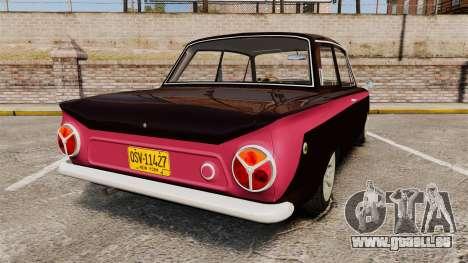 Lotus Cortina 1963 für GTA 4 hinten links Ansicht