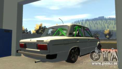 VAZ 2106 pour GTA 4 Vue arrière de la gauche