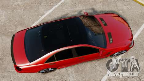 Mercedes-Benz S65 (W221) AMG pour GTA 4 est un droit