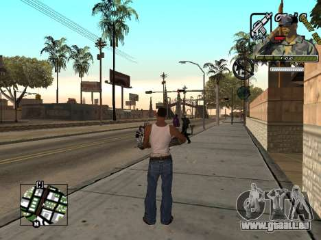C-Hud Army by Enrique Rueda für GTA San Andreas dritten Screenshot