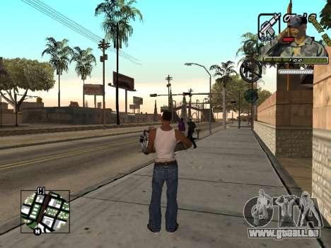 C-Hud Army by Enrique Rueda pour GTA San Andreas troisième écran