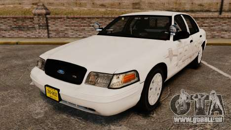 Ford Crown Victoria Traffic Enforcement [ELS] pour GTA 4