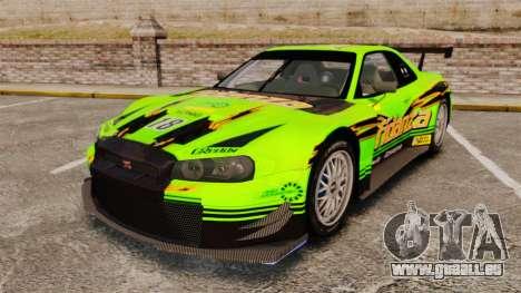Nissan Skyline R34 für GTA 4