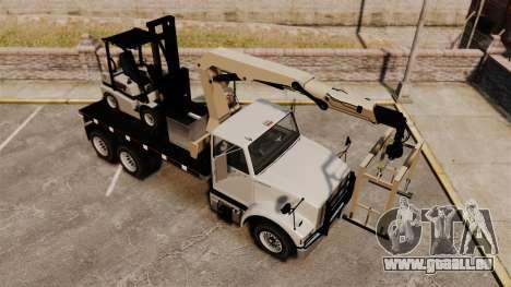 Benson Heavy pour GTA 4 vue de dessus