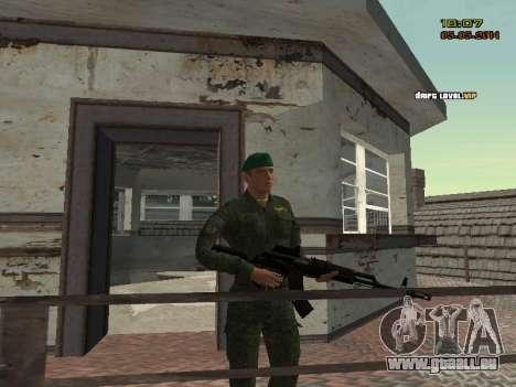 L'armée russe moderne pour GTA San Andreas douzième écran
