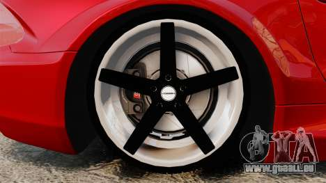 Mercedes-Benz SL65 AMG für GTA 4 Rückansicht