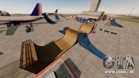 Trick-Park am Flughafen für GTA 4