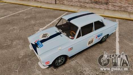 Lotus Cortina 1963 für GTA 4-Motor