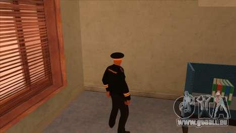 Les peaux de la police et de l'armée pour GTA San Andreas deuxième écran