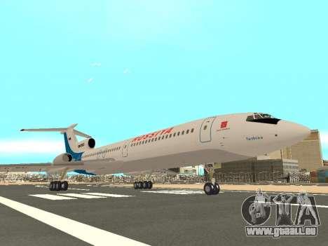 Tu-154 B-2 SCC Russland für GTA San Andreas Rückansicht