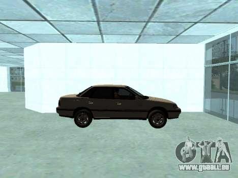 Subaru Legacy pour GTA San Andreas sur la vue arrière gauche