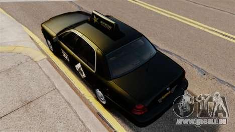 Ford Crown Victoria Cab für GTA 4 rechte Ansicht