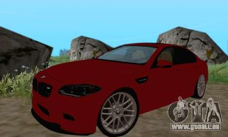 BMW M5 F10 v1.1 pour GTA San Andreas