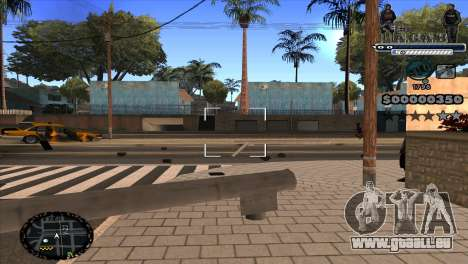 C-HUD A.C.A.B für GTA San Andreas dritten Screenshot