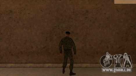 Les peaux de la police et de l'armée pour GTA San Andreas