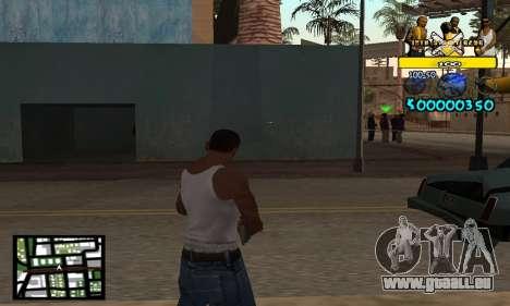 Vagos C-Hud pour GTA San Andreas deuxième écran