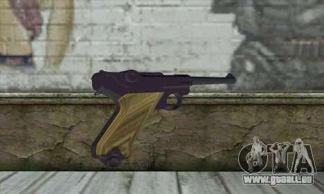 LugerP08 für GTA San Andreas zweiten Screenshot