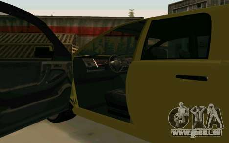 GTA V Bison Version 2 FIXED für GTA San Andreas Innenansicht