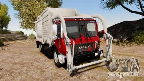 Mack MR 688S Front Load 2000 pour GTA 4