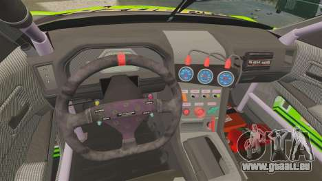 Nissan Skyline R34 für GTA 4 Rückansicht