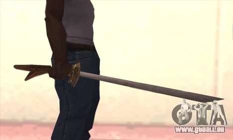 Schwert für GTA San Andreas dritten Screenshot