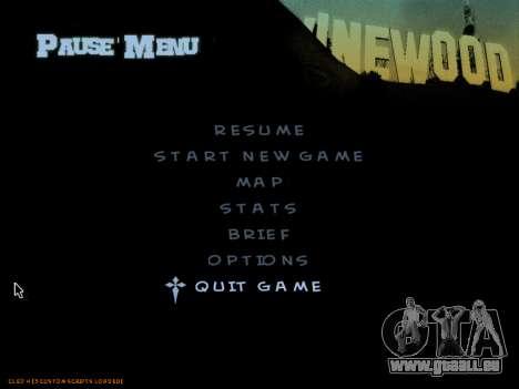 C-HUD by Powwer pour GTA San Andreas quatrième écran