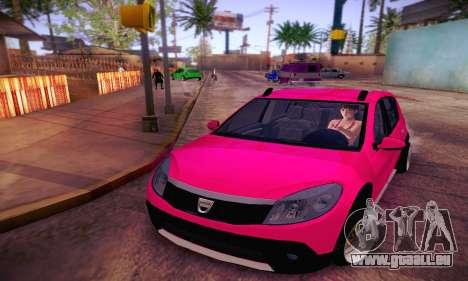 Dacia Sandero für GTA San Andreas