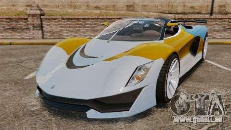 GTA V Grotti Turismo R für GTA 4
