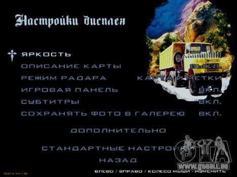 Boot-screens sowjetischen LKW für GTA San Andreas elften Screenshot