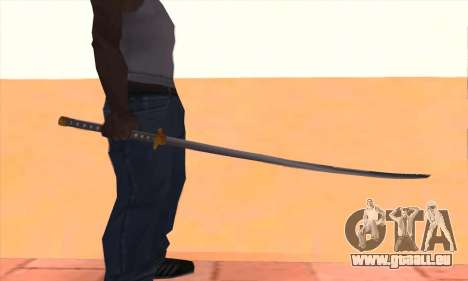 Katana für GTA San Andreas dritten Screenshot