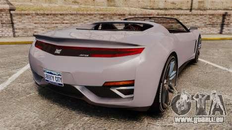 GTA V Dinka Jester Rodster pour GTA 4 Vue arrière de la gauche