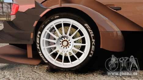 Audi A4 2008 Touring car pour GTA 4 Vue arrière