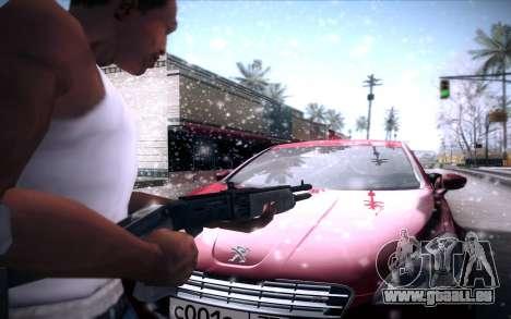 Spas 12 pour GTA San Andreas cinquième écran