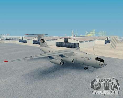 Il-76TD Aviacon zitotrans für GTA San Andreas linke Ansicht