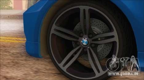 BMW 330i pour GTA San Andreas vue de droite